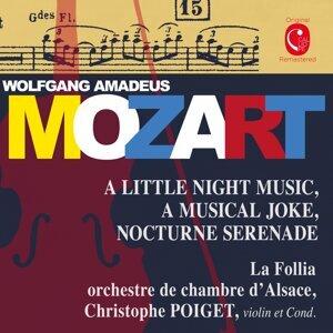 Christophe Poiget, Ochestre de chambre d'Alsace La Follia 歌手頭像