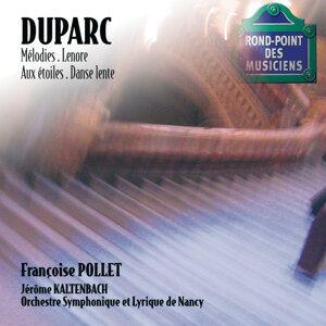 Orchestre Symphonique & Lyrique De Nancy,Françoise Pollet,Jerome Kaltenbach 歌手頭像