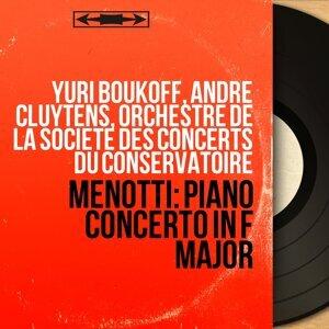Yuri Boukoff, André Cluytens, Orchestre de la Société des concerts du Conservatoire 歌手頭像