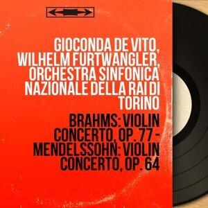 Gioconda de Vito, Wilhelm Furtwängler, Orchestra sinfonica nazionale della RAI di Torino 歌手頭像