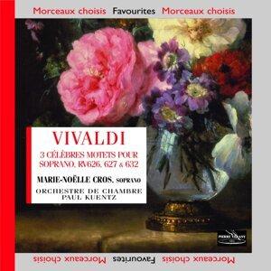 Marie-Noëlle Cros, Paul Kuentz, Orchestre de Chambre Paul Kuentz 歌手頭像