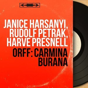 Janice Harsanyi, Rudolf Petrak, Harve Presnell 歌手頭像