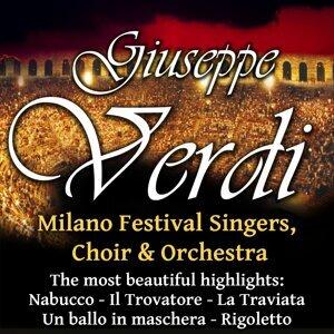 Milano Festival Singers, Choir & Orchestra 歌手頭像