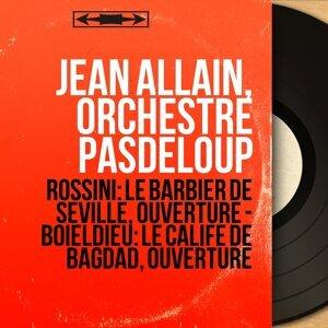 Jean Allain, Orchestre Pasdeloup 歌手頭像