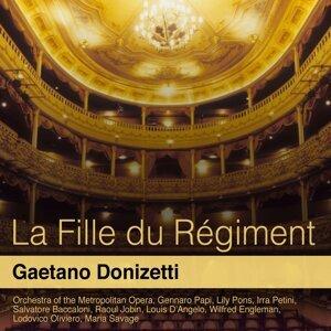 Orchestra of the Metropolitan Opera, Gennaro Papi, Lily Pons, Irra Petini 歌手頭像