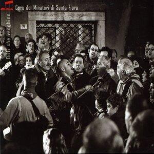 Coro dei Minatori di Santa Fiora 歌手頭像