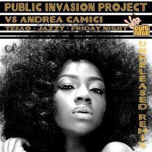 Public Invasion Project, Andrea Camici 歌手頭像