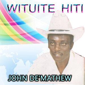 John De'Mathew 歌手頭像