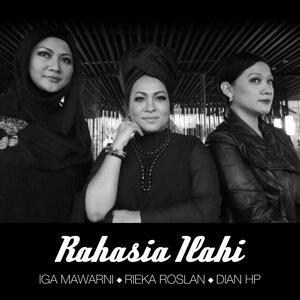 Rieka Roeslan, Iga Mawarni, Dian HP 歌手頭像