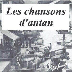 Les chansons d'antan, vol. 2 歌手頭像