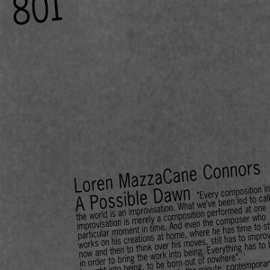 Loren MazzaCane Connors
