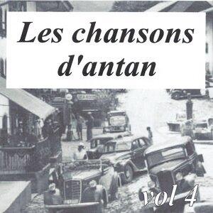 Les chansons d'antan, vol. 4 歌手頭像