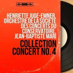 Henriette Juge-Emner, Orchestre de la Société des concerts du Conservatoire, Jean-Baptiste Mari 歌手頭像