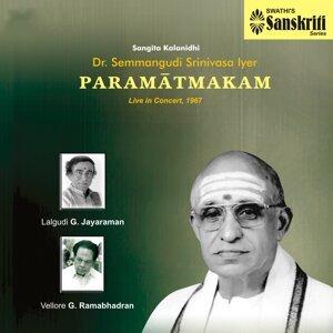 Dr. Semmangudi Srinivasa Iyer, Lalgudi G. Jayaraman, Vellore G. Ramabhadran 歌手頭像