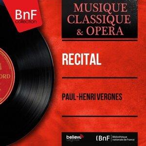 Paul-Henri Vergnes 歌手頭像