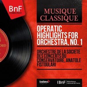 Orchestre de la Société des concerts du Conservatoire, Anatole Fistoulari 歌手頭像