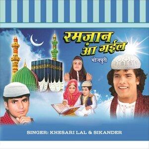 Khesari Lal, Raju Rashiya 歌手頭像