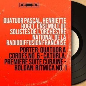 Quatuor Pascal, Henriette Roget, Ensemble de solistes de l'Orchestre National de la Radiodiffusion Française 歌手頭像
