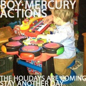 Boy Mercury, Actions 歌手頭像