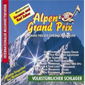 19. Alpen Grand Prix Volksmusik 歌手頭像