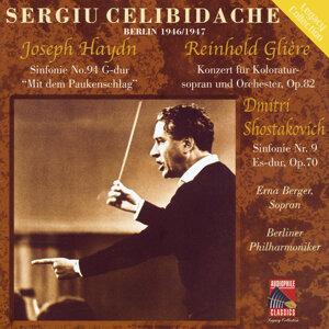 Sergiu Celibidache, Berliner Phillharmoniker, Erna Berger 歌手頭像