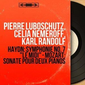 Pierre Luboschutz, Celia Nemeroff, Karl Randolf 歌手頭像
