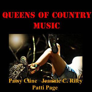 Patsy Cline, Jeannie C. Riley, Patti Page 歌手頭像