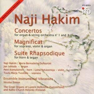 Naji Hakim, Nicolas Simon, Ensemble Instrumental Vibrations 歌手頭像