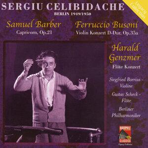 Sergiu Celibidache, Berliner Phillharmoniker, Gustav Scheck 歌手頭像