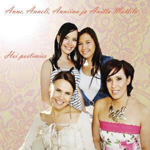 Anne, Anneli, Anniina ja Anitta Mattila