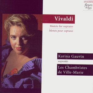 Les Chambristes de Ville-Marie, Karina Gauvin 歌手頭像