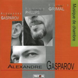 Alexandre Gasparov, David Grimal & Xavier Phillips 歌手頭像