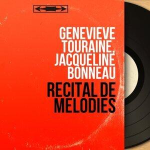 Geneviève Touraine, Jacqueline Bonneau 歌手頭像