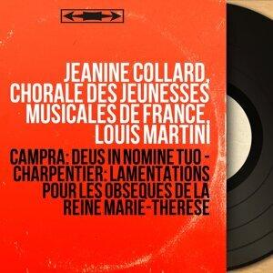Jeanine Collard, Chorale des Jeunesses musicales de France, Louis Martini 歌手頭像