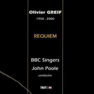 Olivier Greif, BBC Singers & John Poole 歌手頭像