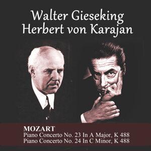 Herbert von Karajan, Walter Gieseking 歌手頭像