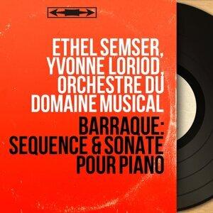 Ethel Semser, Yvonne Loriod, Orchestre du Domaine musical 歌手頭像