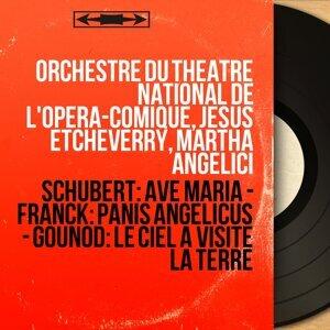 Orchestre du Théâtre national de l'Opéra-Comique, Jésus Etcheverry, Martha Angelici 歌手頭像