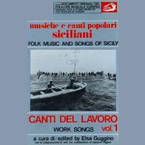 Musiche e canti popolari siciliani - Canti del lavoro Vol. 1 歌手頭像