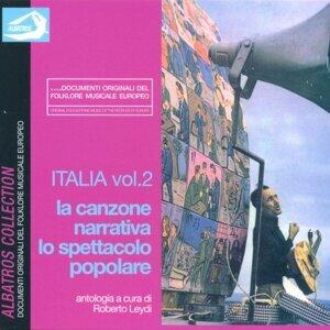 Italia Vol. 2: La canzone narrativa, lo spettacolo popolare 歌手頭像