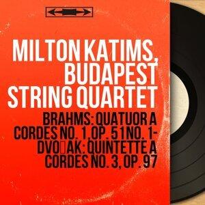 Milton Katims, Budapest String Quartet, Josef Roisman, Jac Gorodetzky, Boris Kroyt, Mischa Schneider 歌手頭像