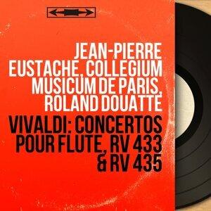 Jean-Pierre Eustache, Collegium musicum de Paris, Roland Douatte 歌手頭像