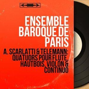 Ensemble baroque de Paris, Jean-Pierre Rampal, Pierre Pierlot, Robert Gendre, Paul Hongne, Robert Veyron-Lacroix 歌手頭像