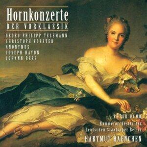 Peter Damm,Hartmut Haenchen,Carl Philipp Emanuel Bach Chamber Orchestra,Matthias Eisenberg,Peter Damm,Matthias Pfaender,Manfred Pernutz 歌手頭像
