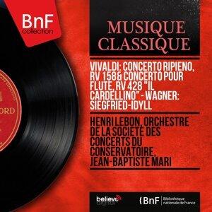 Henri Lebon, Orchestre de la Société des concerts du Conservatoire, Jean-Baptiste Mari 歌手頭像