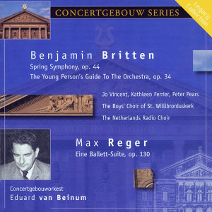 Concertgebouw Orchestra, Kathleen Ferrier, Peter Pears 歌手頭像
