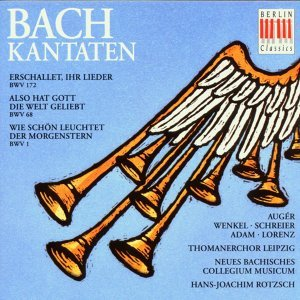 Hans-Joachim Rotzsch, Leipzig Thomaner Choir, Leipzig New Bach Collegium Musicum, Arleen Auger, Theo Adam, Ortrun Wenkel, Peter Schreier 歌手頭像