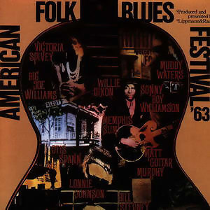 American Folk Blues Festival '63 歌手頭像