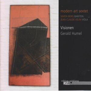 Simon Berg, Jean-Claude Velin, Modern Art Sextet 歌手頭像