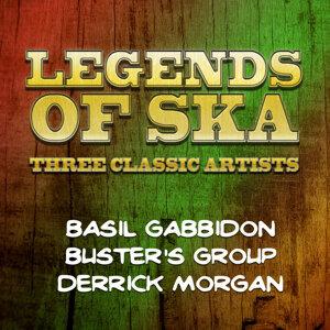 Basil Gabbidon, Buster's Group, Derrick Morgan 歌手頭像
